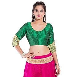 TAM CREATIO Women's Wedding Wear Classy Silk Cotton Blouse Fabric