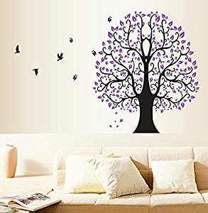 diy removable cheap family tree wall sticker. Black Bedroom Furniture Sets. Home Design Ideas