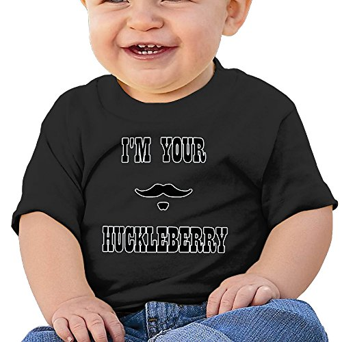 I'm Your Huckleberry Doc Holliday Newborn Infant Cute T-Shirts