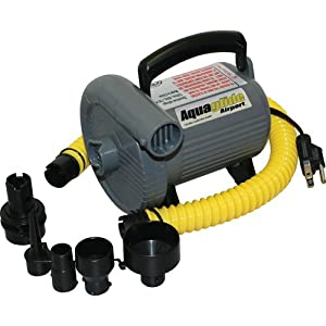 Aquaglide High output Electric Air inflator Pump (110 volt)