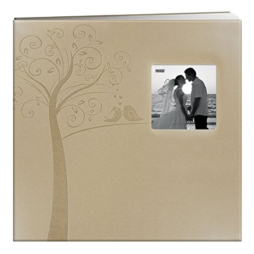 pioneer-photo-albums-mb-10ew-postbound-embossed-leatherette-frame-cover-wedding-memory-book-12-inch-