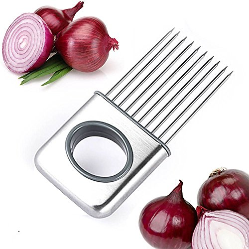 VANKER Pratique Maison Cuisine Gadget Oignon Tomate facile support Coupeur Sûr Tranche