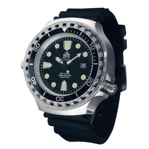 [トーチマイスター1937]Tauchmeister1937 腕時計 ドイツ製大型重厚1000M防水ダイバーズ  T0265 (並行輸入品)