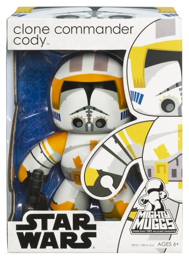 Star Wars Mighty Muggs Series 8 Exclusive Clone Commander Cody Figure - 1