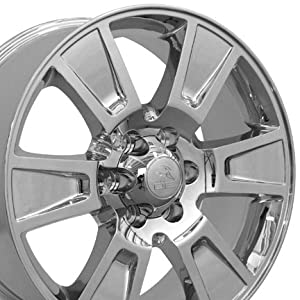 20″ Fits Ford® F-150 Style Replica Wheels PVD Chrome 20×8.5 SET