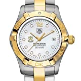 TAG HEUER watch:Princeton University TAG Heuer Watch - Women's Two-Tone Aquaracer with Diamond Dial at M.LaHart