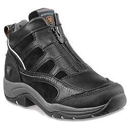 Ariat Women\'s Terrain Zip H2O Hiking Boot, Black,10 B US