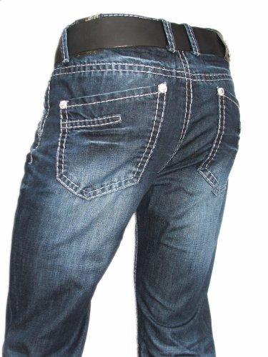 g nstige herrenjeans blue monkey herren jeans dark used. Black Bedroom Furniture Sets. Home Design Ideas