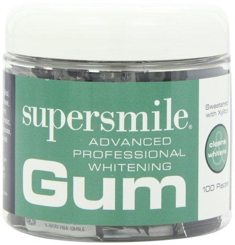 Supersmile Blanchiment Gum, 100 Count