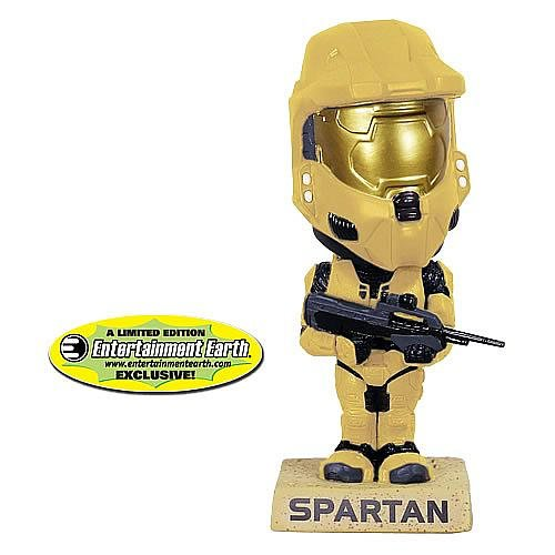 Picture of Funko EE Exclusive Halo Pale Master Chief Bobble Head Figure (B003TYKA6I) (Halo Action Figures)