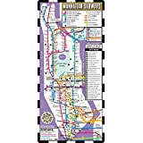 Streetwise Manhattan Bus Subway Map - Laminated Metro Map of Manhattan, New York - Pocket Size (Streetwise Maps)