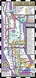 Streetwise Manhattan Bus Subway Map - Laminated Metro Map of Manhattan, New York - Pocket Size (Streetwise Maps)