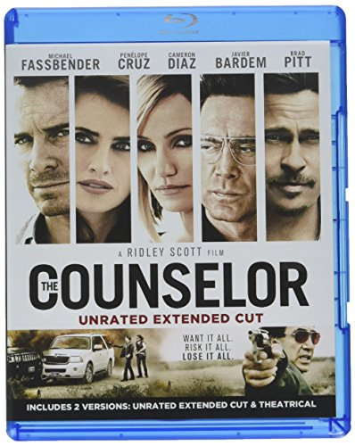 Blu-ray : The Counselor (Digital Theater System, AC-3, Dolby, 2 Pack, Widescreen)