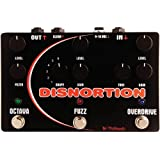 Pigtronix Disnortion Fuzz/Overdrive Guitar Effects Pedal