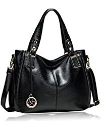 Women's PU Leather Casual Totes Elegant Shoulder Messenger Bag