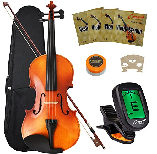 crescent-4-4-full-size-student-violin-starter-kit-includes-crescenttm-digital-e-tuner