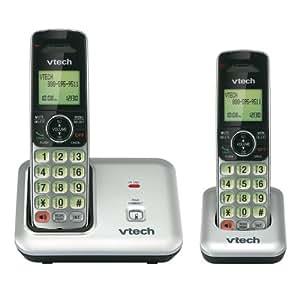 VTech CS6419-2 DECT 6.0 Expandable Cordless Phone