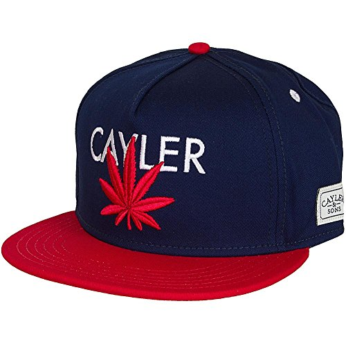 Cayler & Sons -  Cappellino da baseball  - Uomo blu