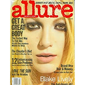 Blake Lively Magazine on Allure Magazine May 2009 Blake Lively  Allure  Amazon Com  Books