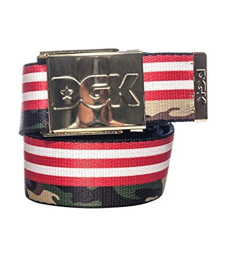 Dgk Americana Flag And Camo Scout Belt Multi-Color Osfa