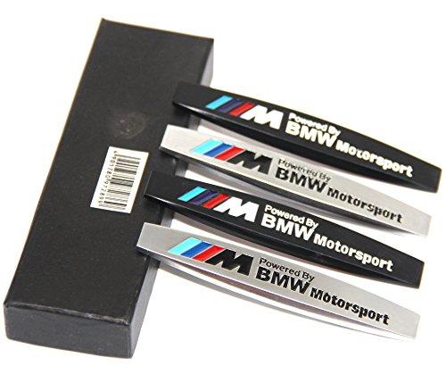 [해외]Yoaoo-oem® 2pcs 금속 /// M 엠블럼 배지 스티커 BMW X3 X5 E90 E53 시리즈 용 모터 스포츠/Yoaoo-oem® 2pcs Metal ///M Emblem Badge Sticker Motors