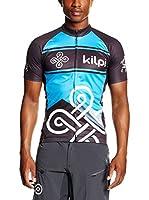 Kilpi Maillot Ciclismo Septima-M (Azul / Negro)