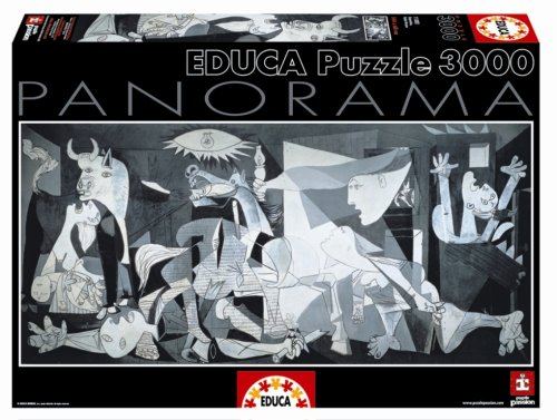 Cheap John N Hansen Guernica – Pablo Picasso Panoramic Puzzle 3000 Pieces (B000IZYWI8)