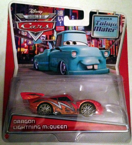 Disney Pixar Cars, Toon Die-Cast, Dragon Lightning McQueen, 1:55 Scale
