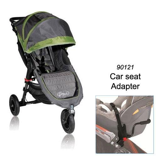 Baby Jogger Mini GT Stroller in Shadow/Green WITH Car Seat Adapter