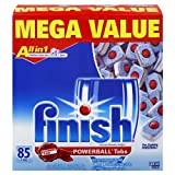 Finish Powerball Tablets, Fresh Scent, 85-Count