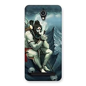 Ajay Enterprises OM Shiva God Back Case Cover for Zenfone Go