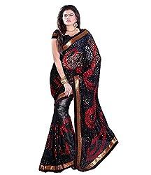 Sangam Spacial Black Net Saree With Heavy Jall Work Saree