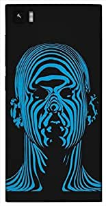 Timpax Protective Hard Back Case Cover Printed Design : A blue Guy.Exactly Design For : Xiaomi Mi3