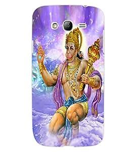 ColourCraft Lord Hanuman Design Back Case Cover for SAMSUNG GALAXY GRAND Z I9082Z