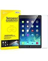 JETech® iPad Film Protection en Verre Trempé écran protecteur ultra résistant Glass Screen Protector pour Apple iPad 2/3/4 (iPad 2/3/4, Verre Trempé)