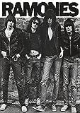 Ramones (Group B&W) Music Poster Print 24 x 33in