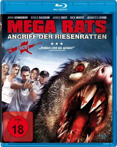 Mega Rats - Angriff der Riesenratten [Blu-ray]