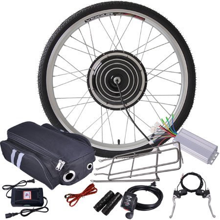 Purchase 36v 800w 26in Front Wheel Electric Bicycle Motor Conversion Kit