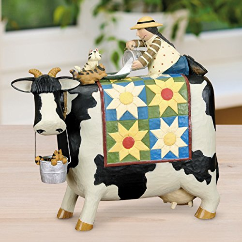 Williraye Studio - Milk Bath Cow Figurine