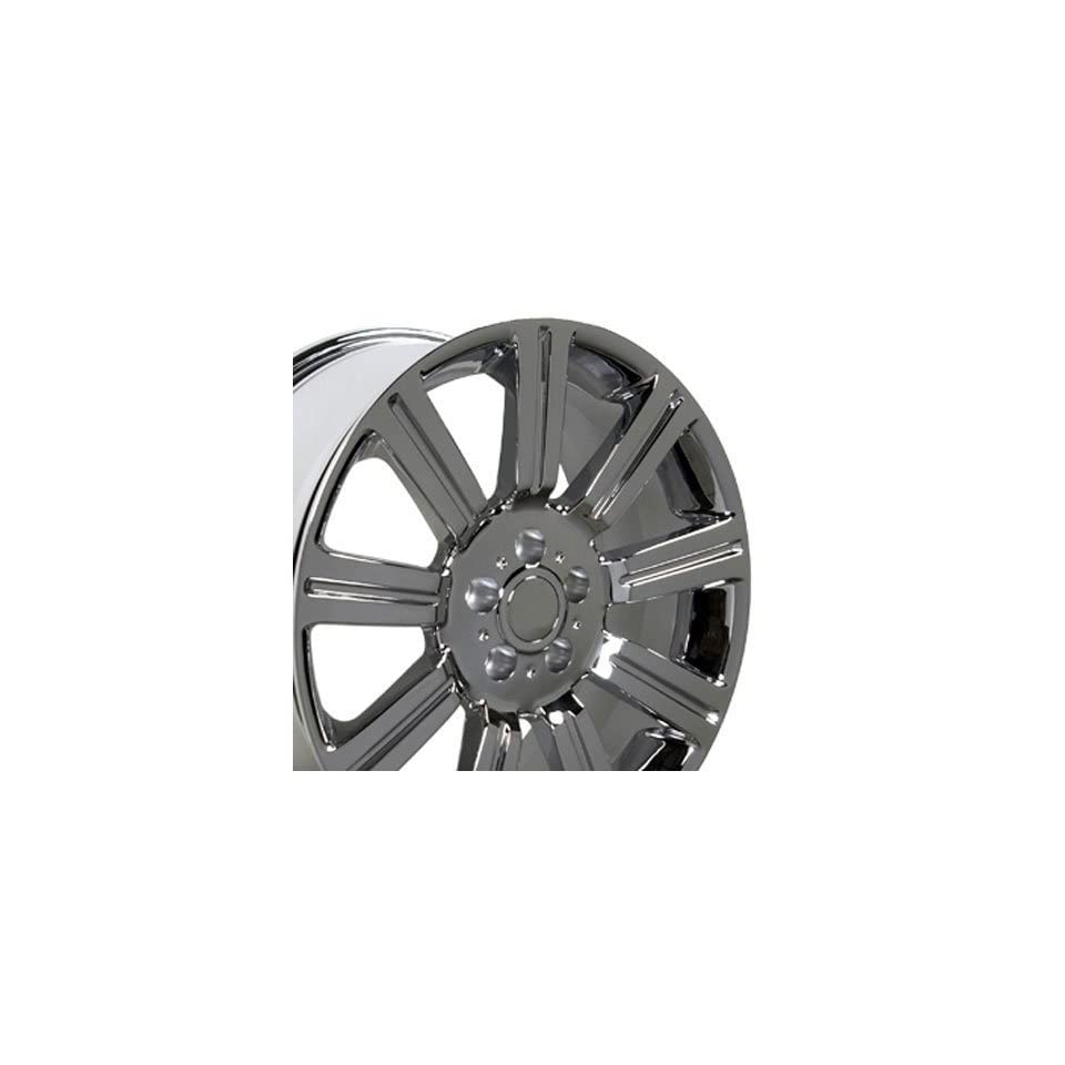 Stormer Style Wheel Fits Land Rover Range Rover   Chrome 22x10