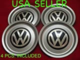 4pcs. REPLACEMENT VW Jetta Bora Golf Mk4 Wheel Center Hub Caps SET 1J0 601 149 B 6 1/2