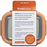 thinkbaby BPA Free Bento Box, Orange (Discontinued by Manufacturer)