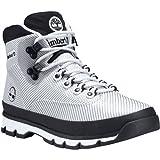 Timberland Mens Euro Hiker Jacquard Boot, White, Size 9 (Color: White Jacquard, Tamaño: 9 M US)