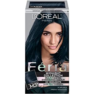 Amazoncom  L39oreal Paris Feria Midnight Collection Cool Soft Black  H