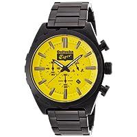 [オニツカ タイガー]Onitsuka Tiger 腕時計 アシンメトリーモデル(ギアべゼルタイプ) OTTC04.02BB メンズ