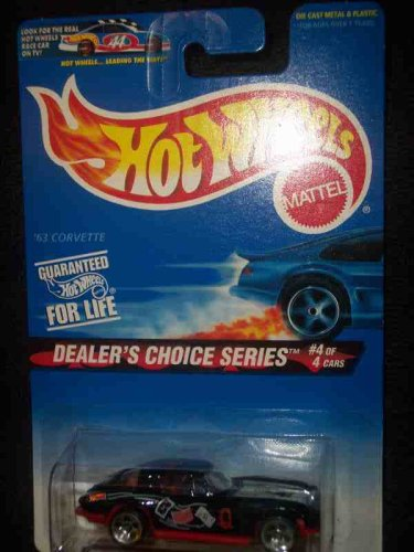 Dealers Choice Series #4 '63 Corvette Without Name On Base #568 Mint