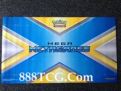 Mega Metagross EX TCG Playmat - Pokemon Trading Card Game (13.5 x 21.5 Inches)