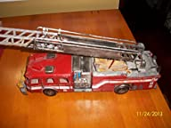 Metal Handmade Fire Truck Mode Statio…