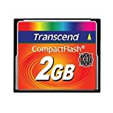 Transcend 2GB CF CARD (133X、 TYPE I ) TS2GCF133