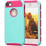 iPhone 5 Case, iPhone 5S Case, BAROX Fashion Cute Armor Case for iPhone 5 5S